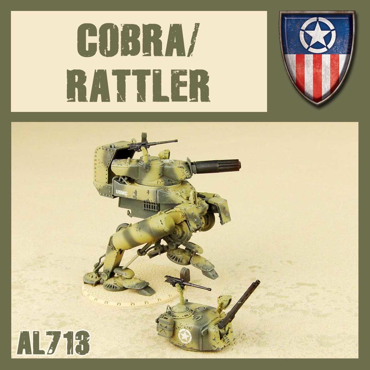 DUST USA DUST DROP-SHIP: Cobra/Rattler (AMP)