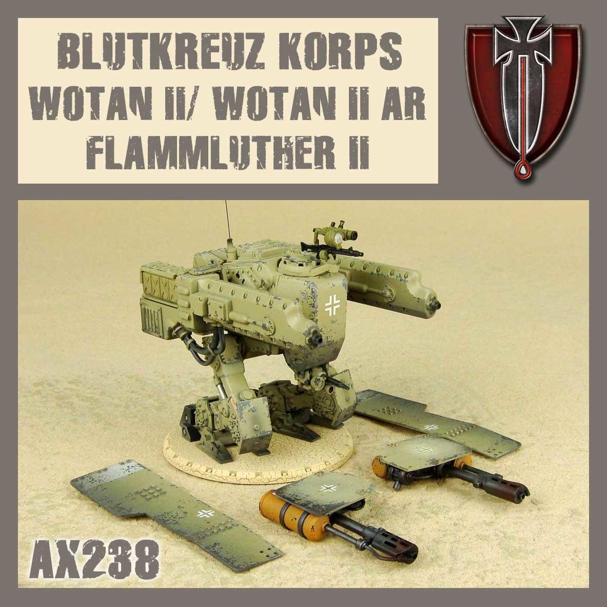 DUST USA DUST DROP-SHIP: Blutkreuz Wotan 2/Wotan AR 2/Flammluther 2