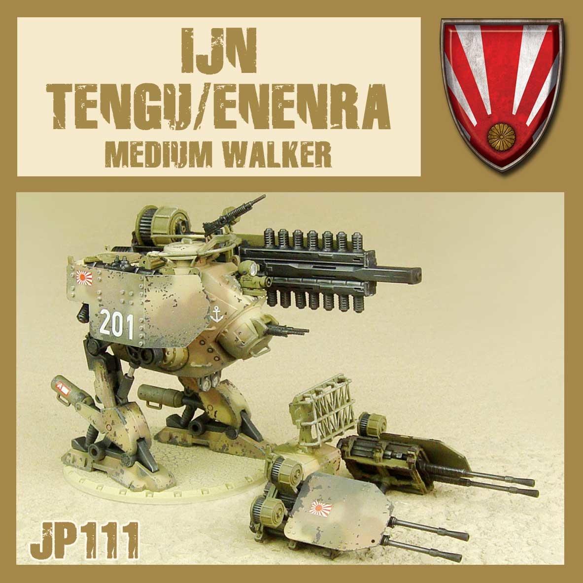 DUST USA DUST DROP-SHIP: IJN Tengu/Enenra Medium Walker (Railgun/AA)