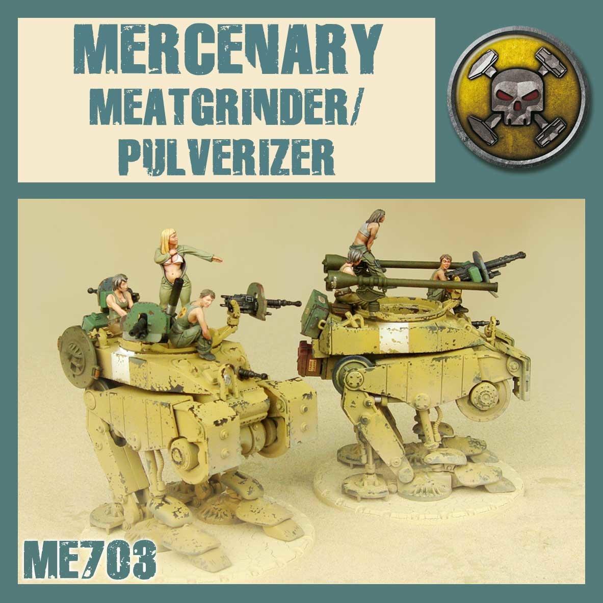 DUST USA DUST DROP-SHIP: Meatgrinder/Pulverizer Medium walker