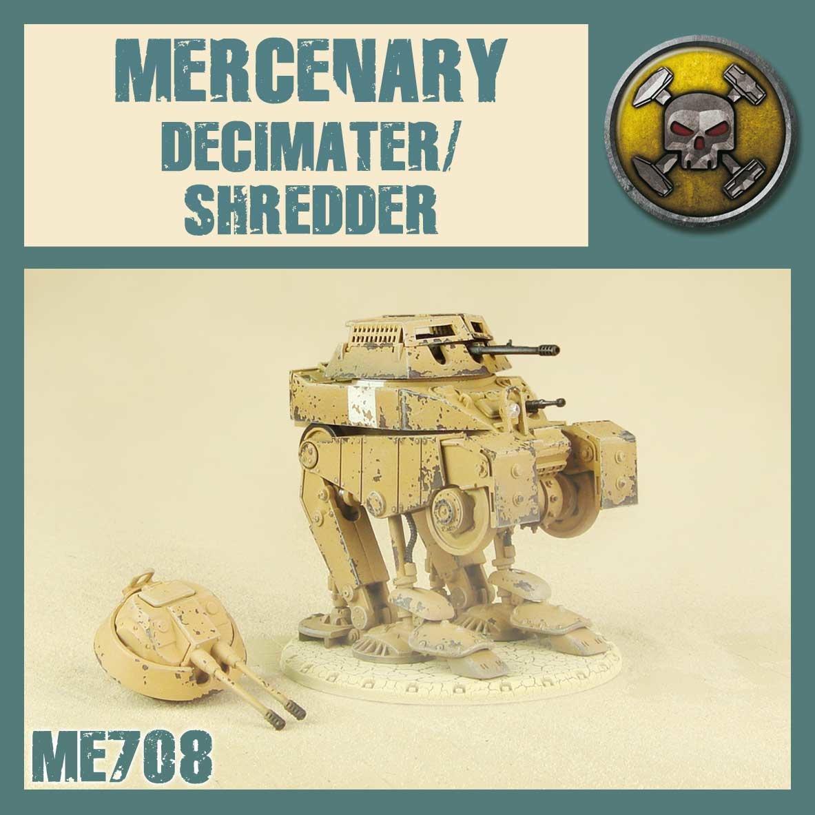 DUST USA DUST DROP-SHIP: Shredder / Decimater