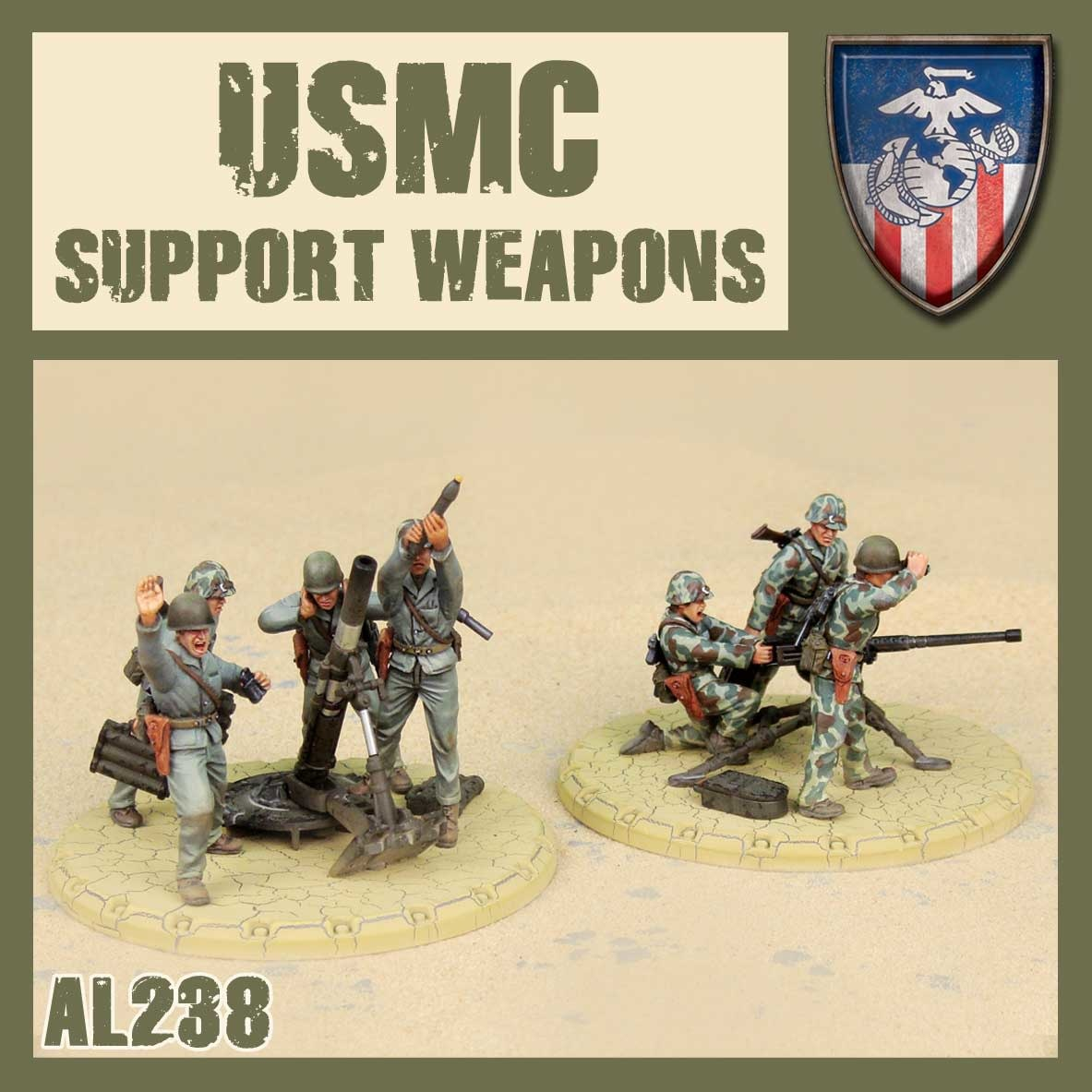 DUST USA DUST DROP-SHIP: USMC Support Weapons