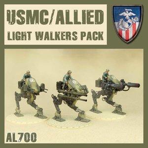 DUST USA DUST DROP-SHIP: Allied Light Walker set