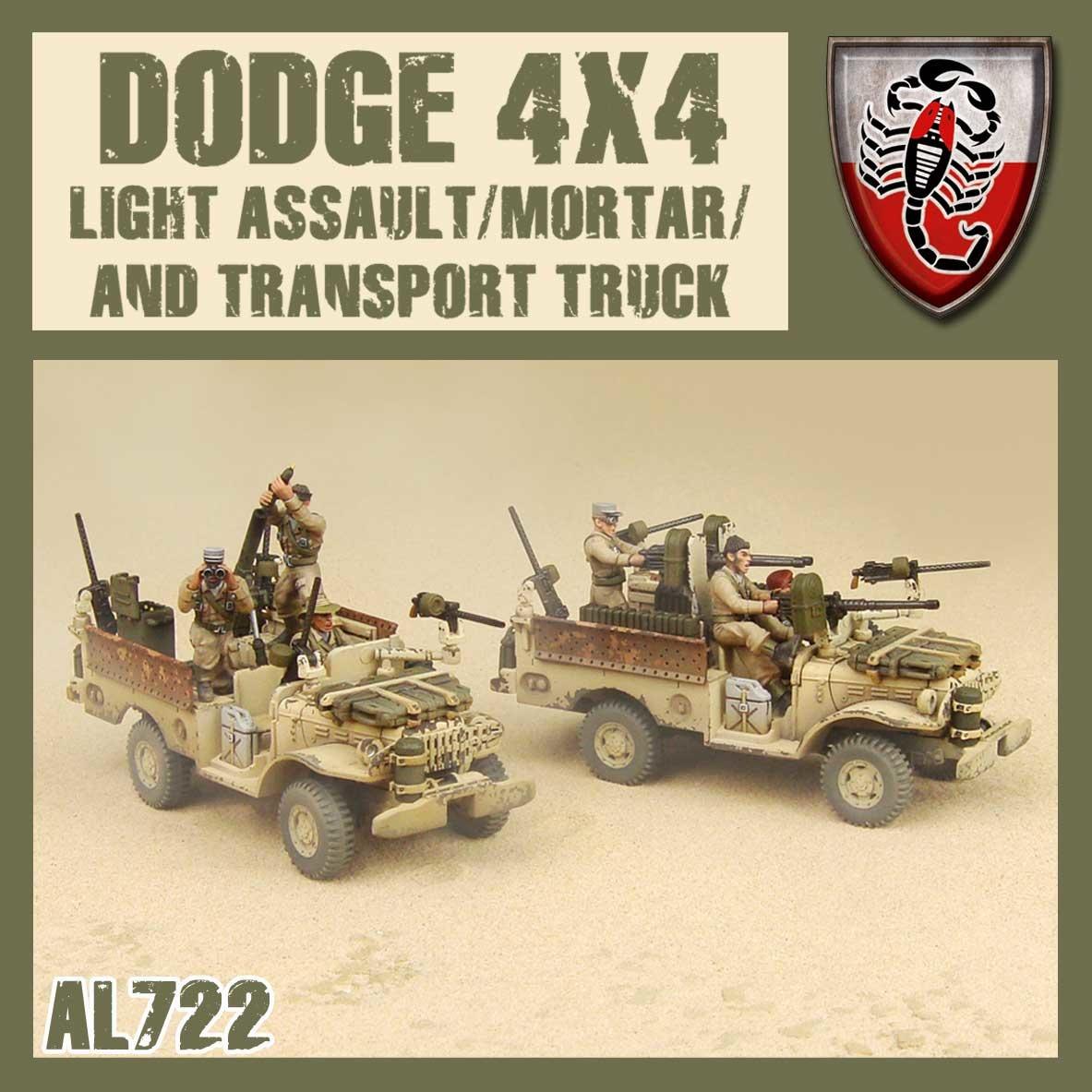 DUST USA DUST DROP-SHIP: Desert Scorpions Assault/Mortar/Transport Truck