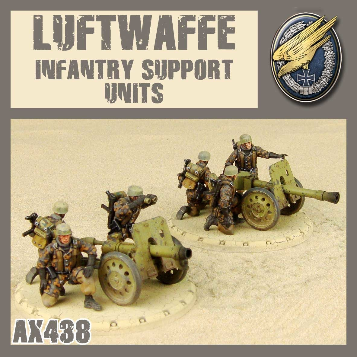DUST USA DUST DROP-SHIP: Luftwaffe Infantry Support Units