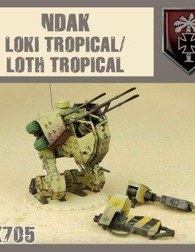 DUST USA DUST DROP-SHIP: Loki/Loth (Trop)