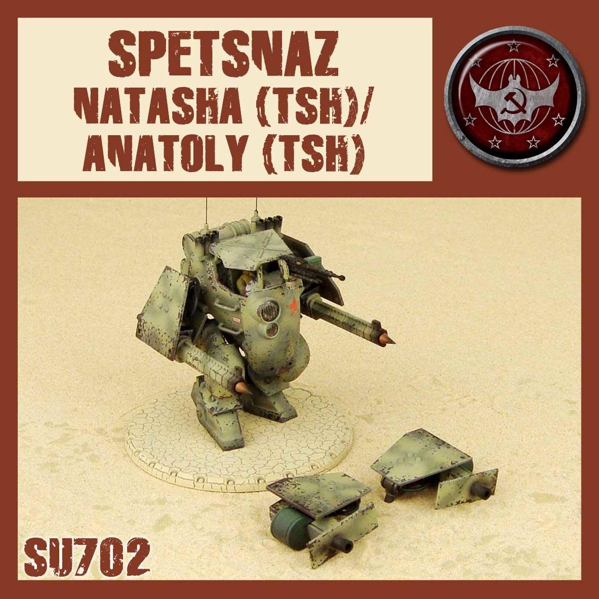 DUST USA DUST DROP-SHIP: Natasha/Anatoly (TSH)