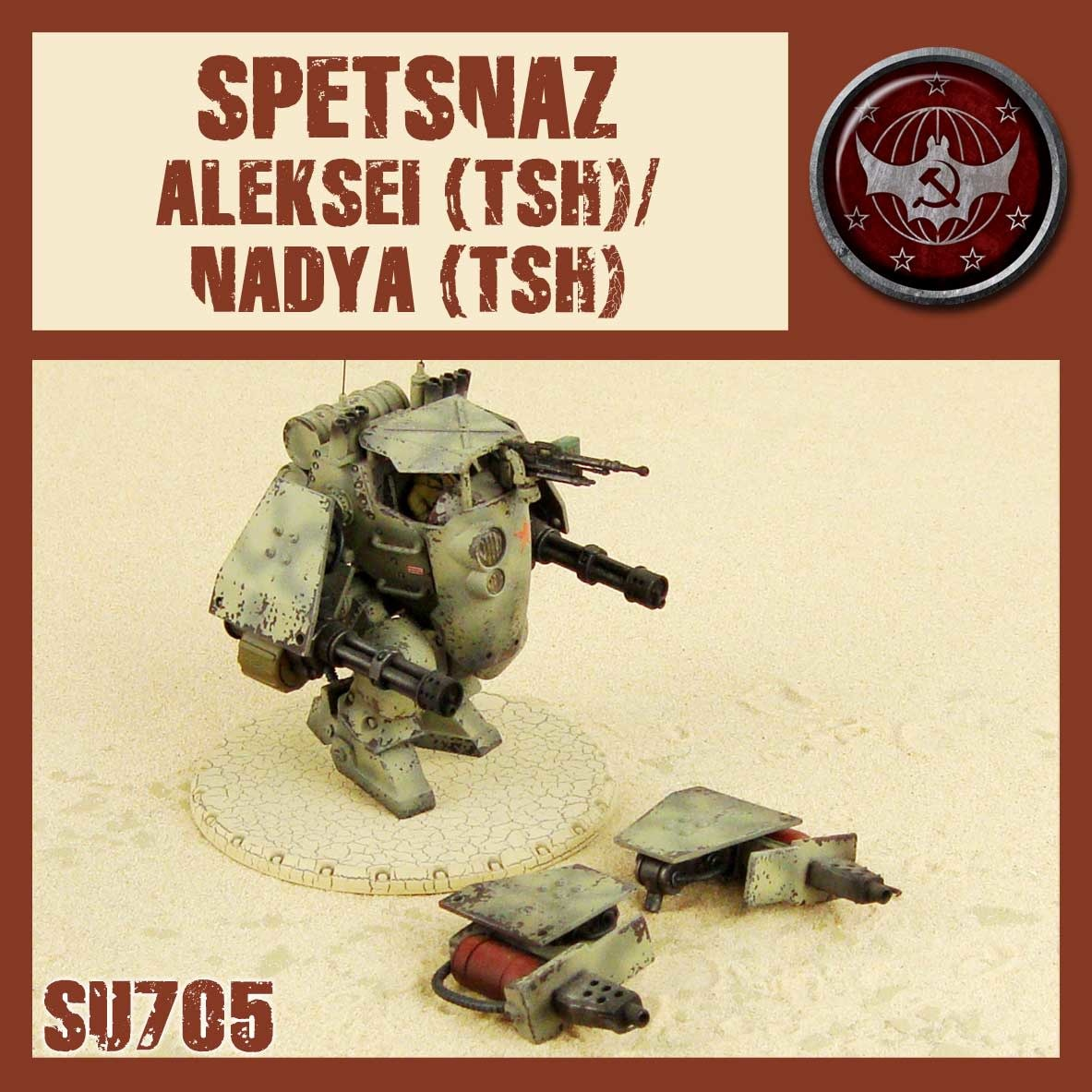 DUST USA DUST DROP-SHIP: Spetsnaz Aleksei/Nadya (TSH)