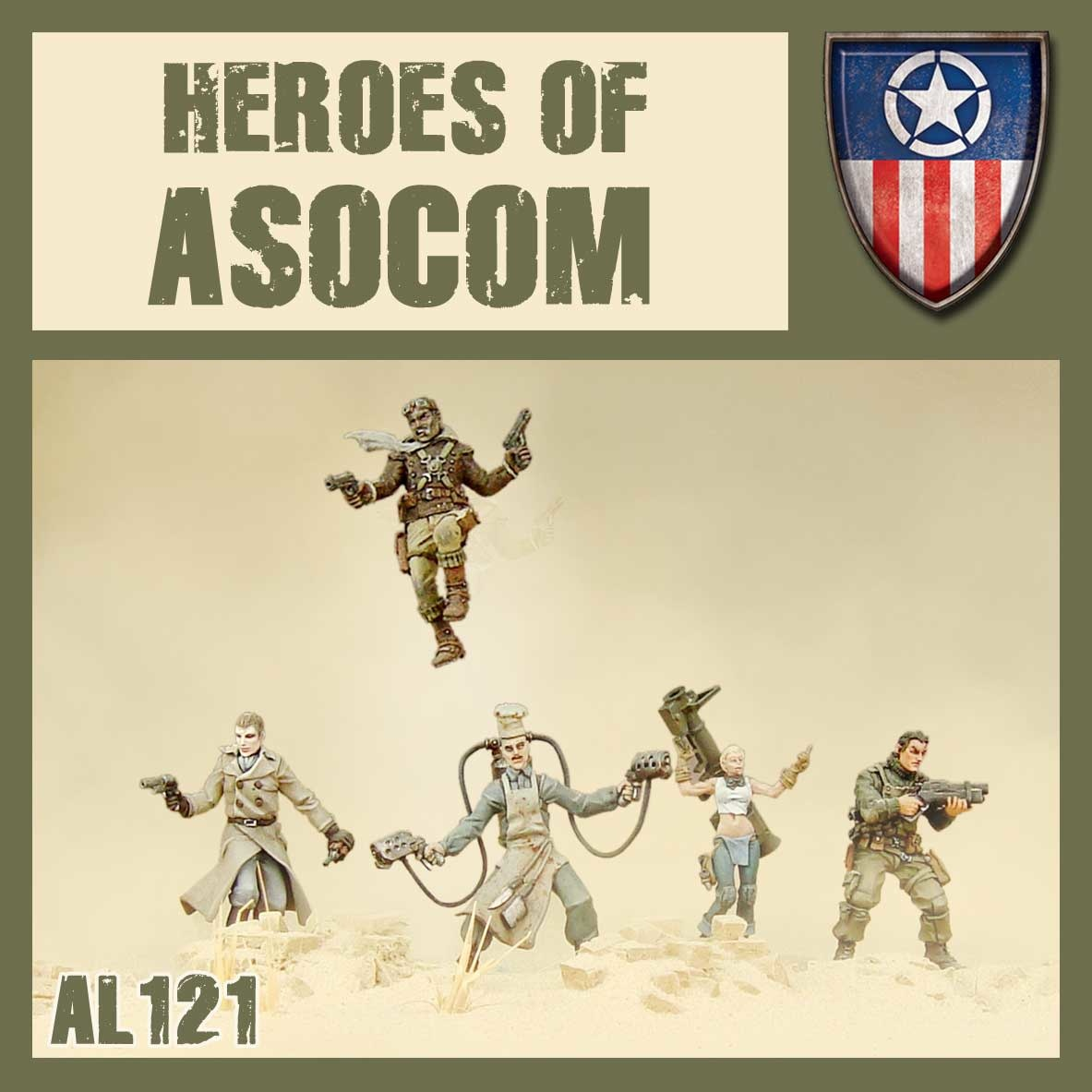 DUST USA DUST DROP-SHIP: Heroes of ASOCOM