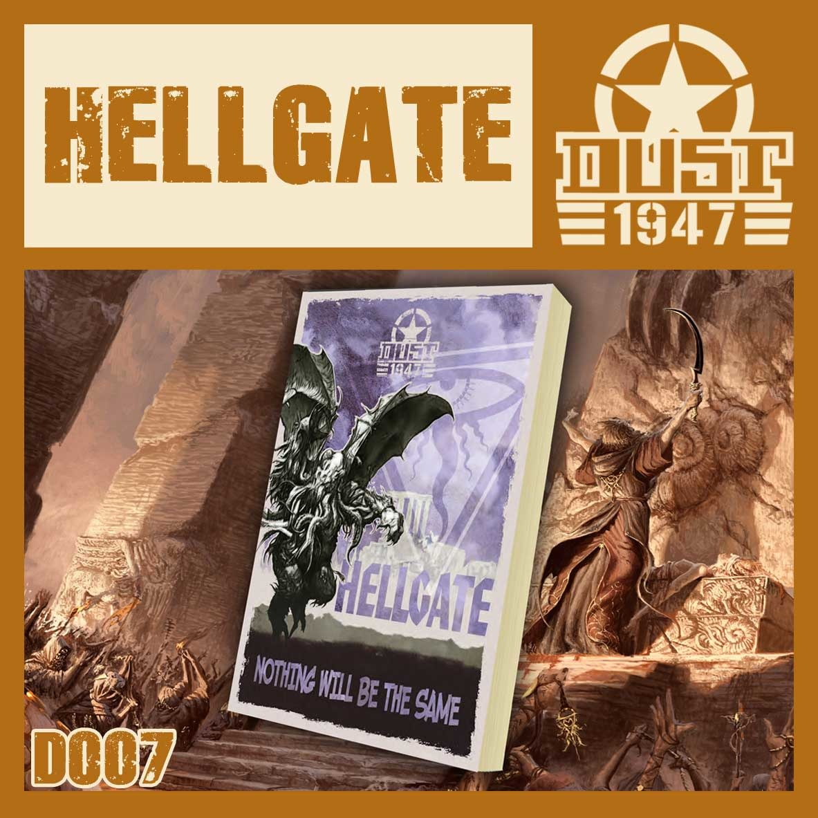 DUST USA DUST DROP-SHIP: Hellgate Campaign Book
