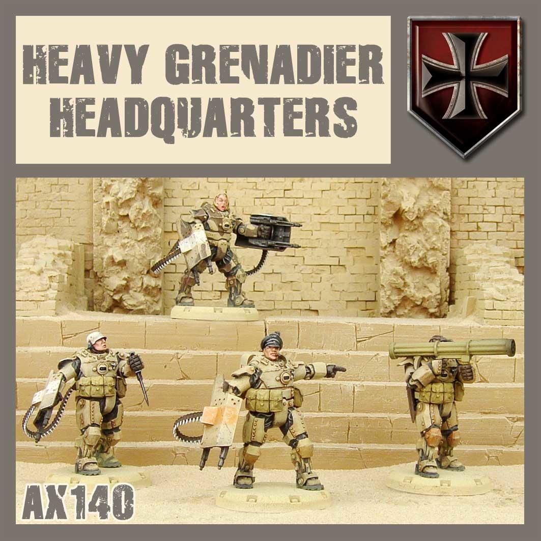 DUST USA DUST DROP-SHIP: Heavy Grenadier HQ