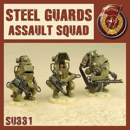 DUST USA DUST DROP-SHIP: Steel Guard Assault Squad