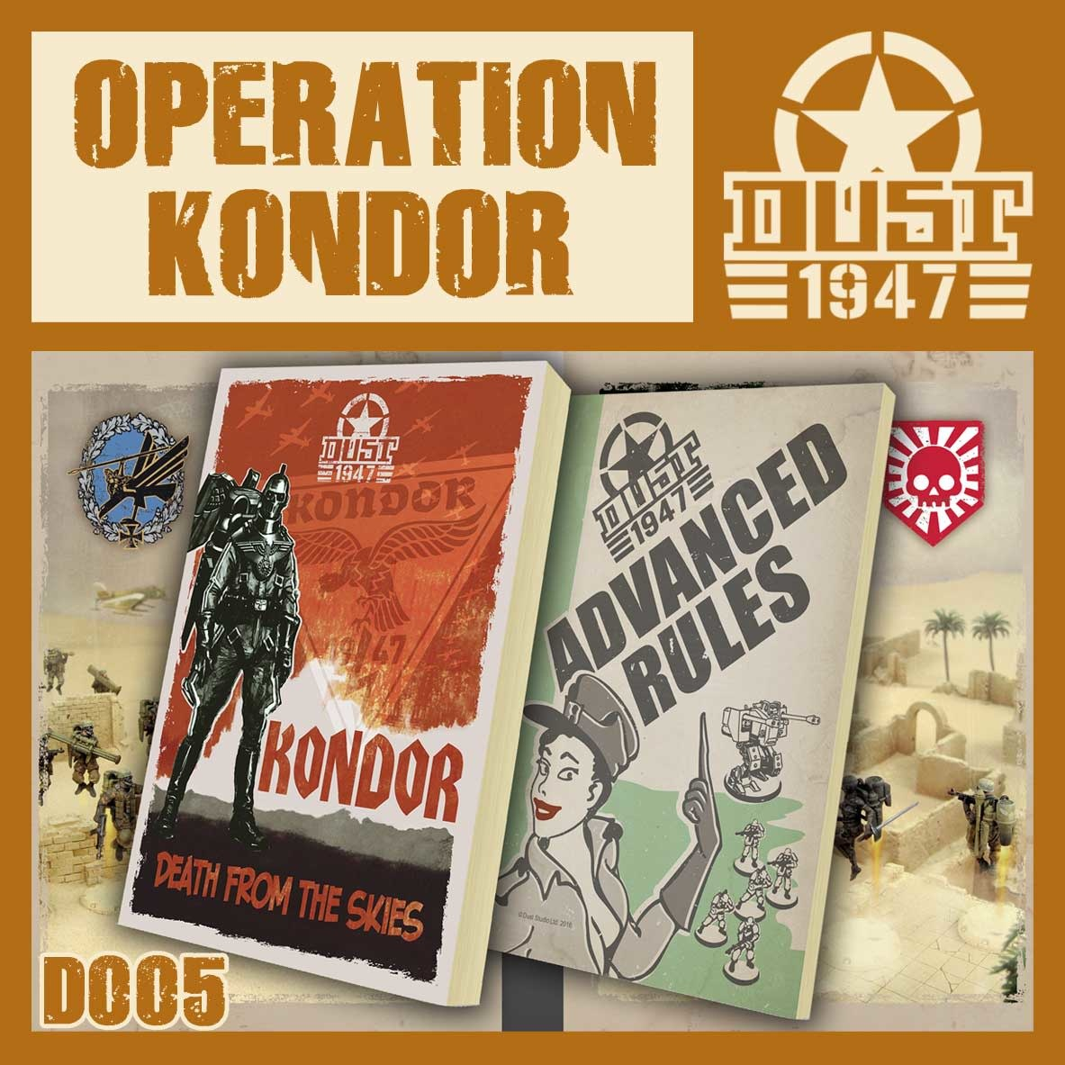 DUST USA DUST DROP-SHIP: Operation Kondor Campaign book