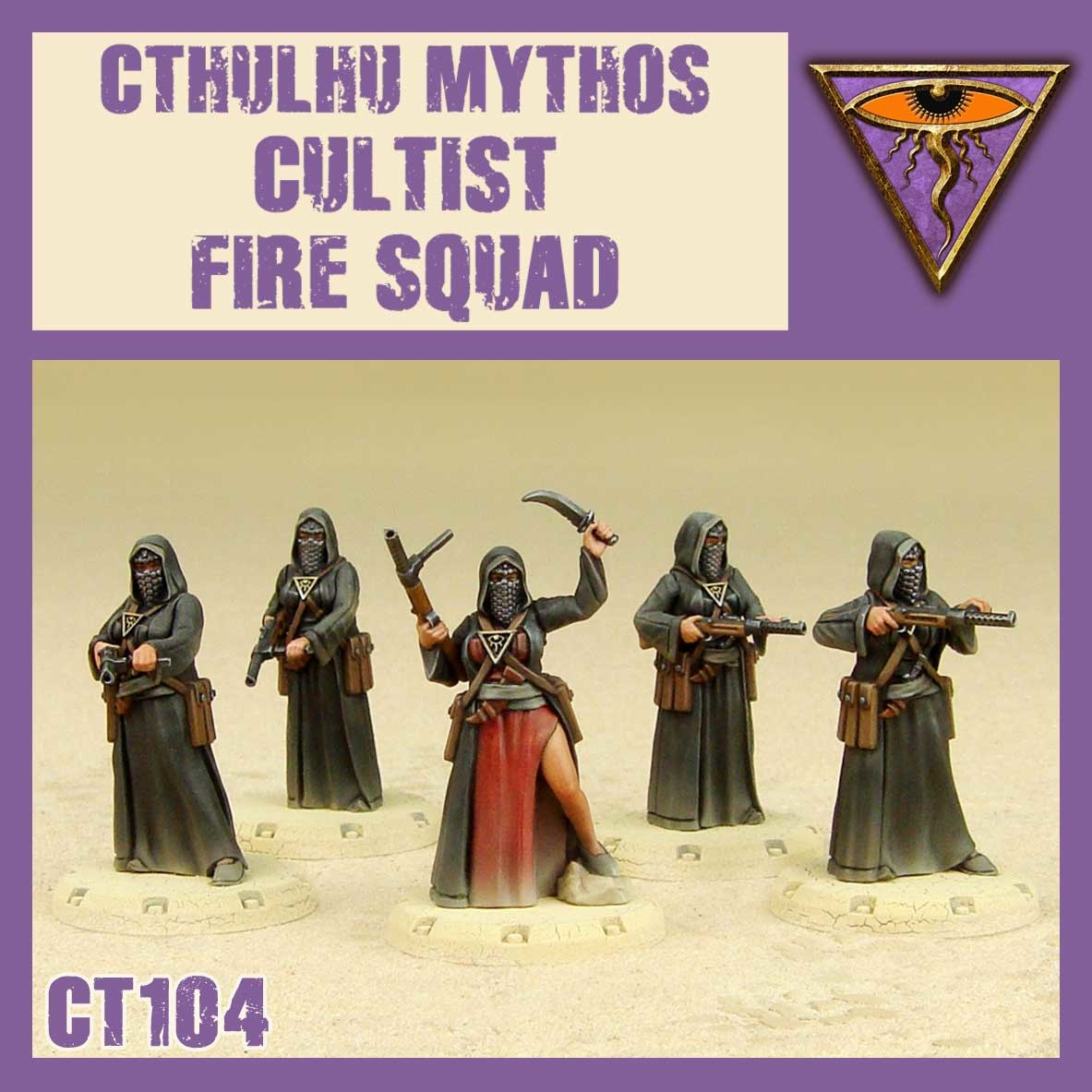 DUST USA DUST DROP-SHIP: Cultists Fire Squad