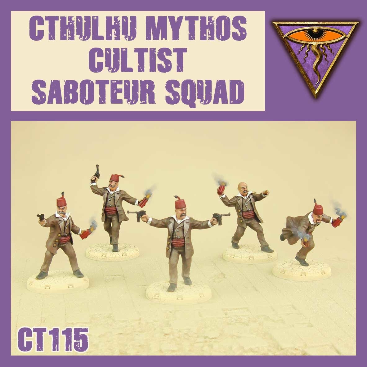 DUST USA DUST DROP-SHIP: Cultist Saboteur Squad