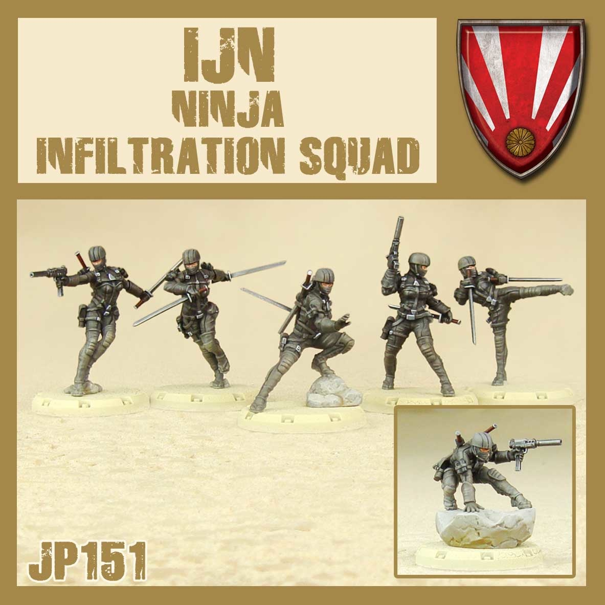 DUST USA DUST DROP-SHIP: IJN Ninja Infiltration Squad