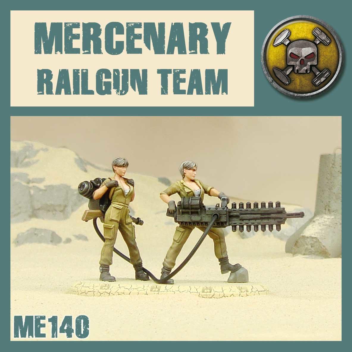 DUST USA DUST DROP-SHIP: Mercenary Railgun Duo