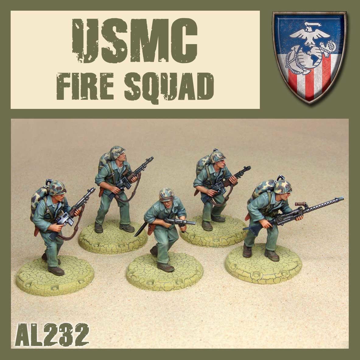 DUST USA DUST DROP-SHIP: USMC Fire Squad