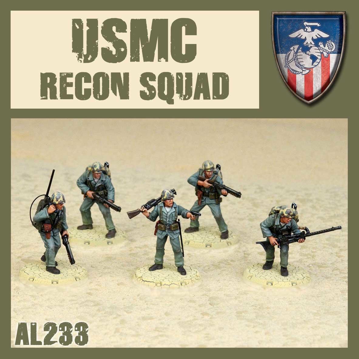 DUST USA DUST DROP-SHIP: USMC Recon Squad