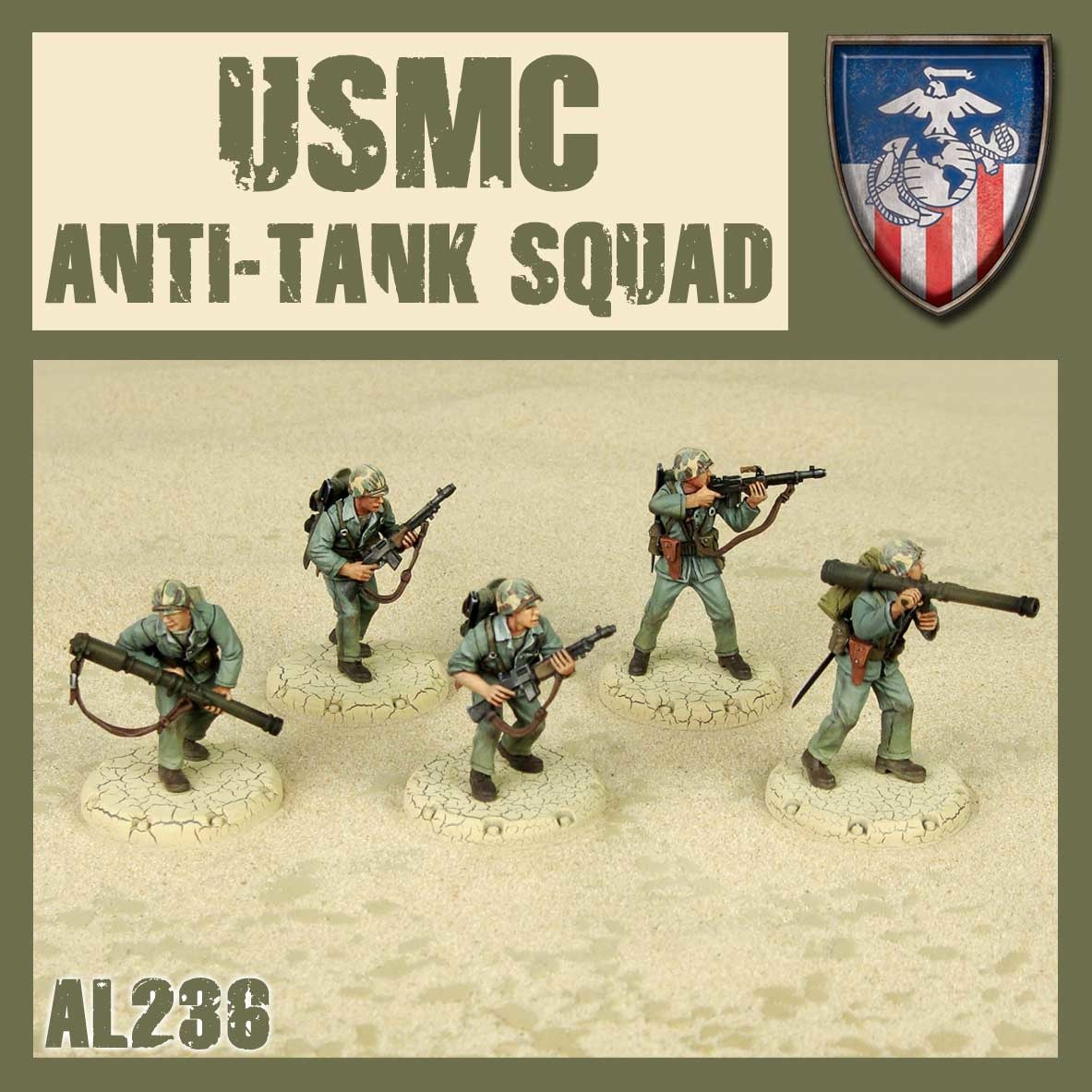 DUST USA DUST DROP-SHIP: USMC Anti-Tank Squad (Hot Shots)