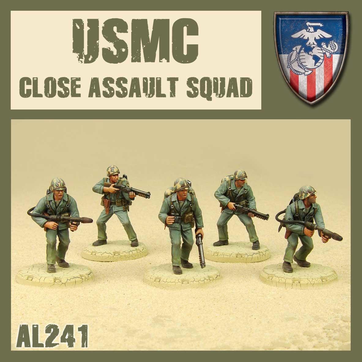DUST USA DUST DROP-SHIP: USMC Close Assault Squad