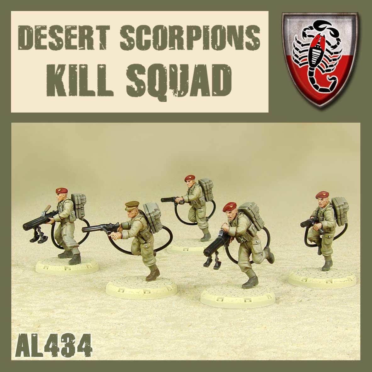 DUST USA DUST DROP-SHIP: Desert Scorpions Kill Squad