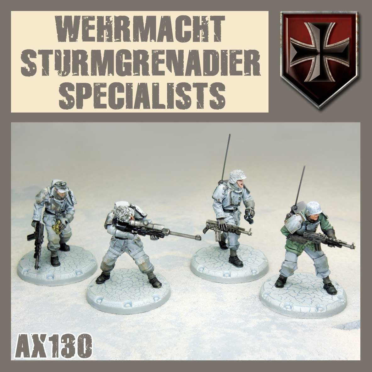 DUST USA DUST DROP-SHIP: Wehrmacht Specialists