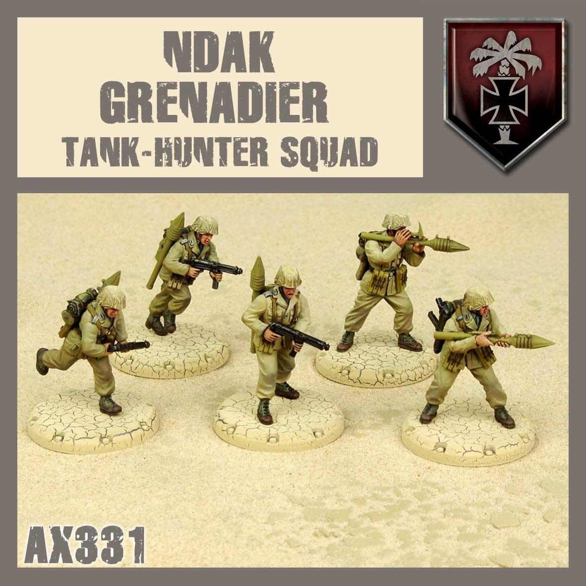 DUST USA DUST DROP-SHIP: NDAK Tank Hunter Squad (African Lions)
