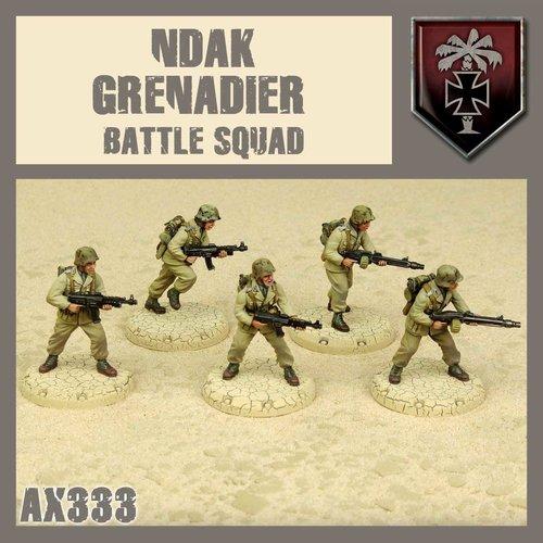DUST USA DUST DROP-SHIP: NDAK Battle Squad (Sand Vipers)