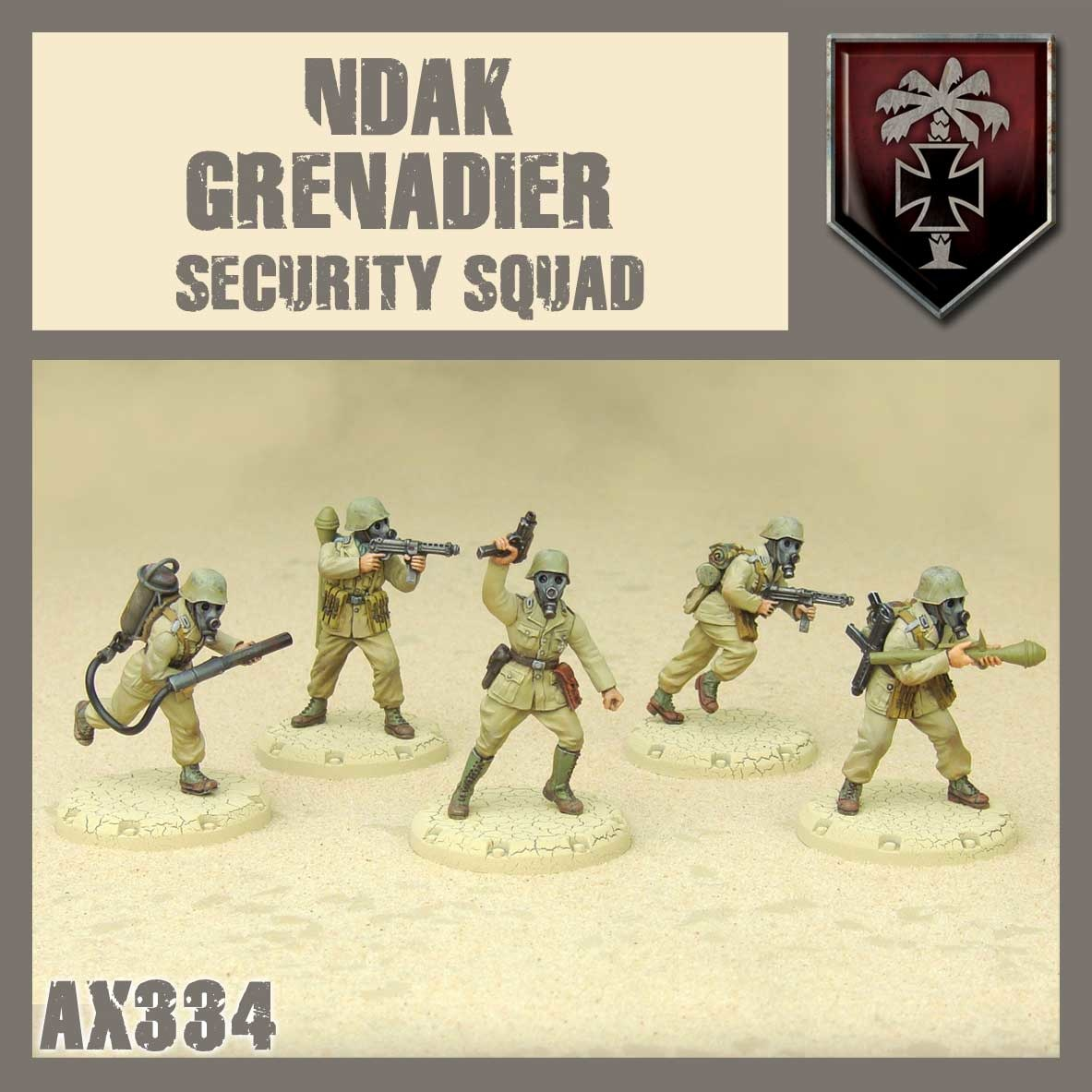 DUST USA DUST DROP-SHIP: NDAK Security Squad (Tomb Cleaners)