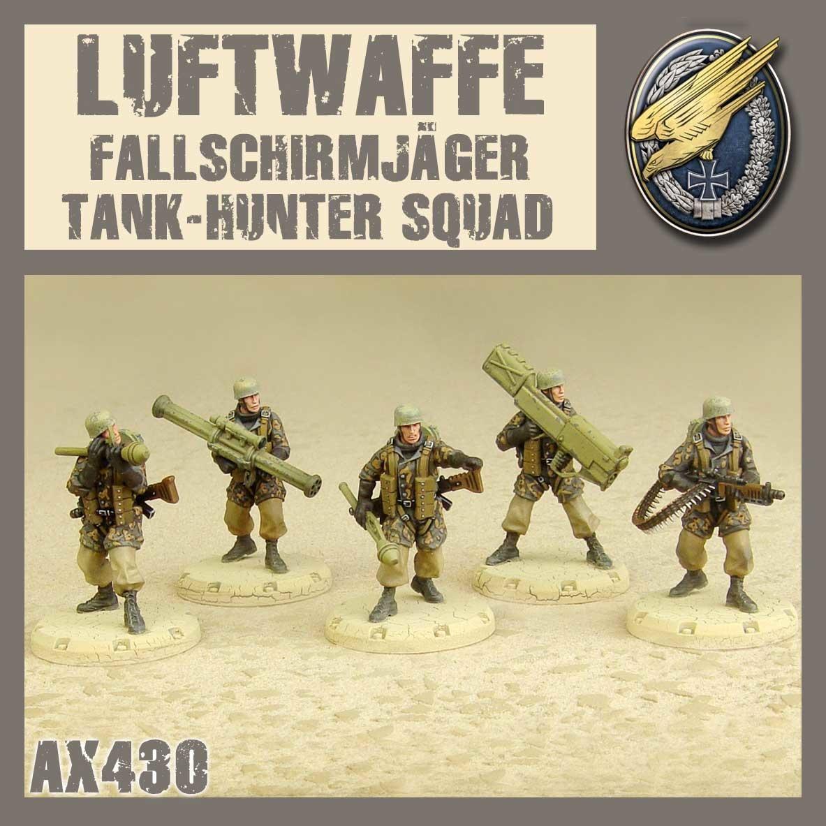 DUST USA DUST DROP-SHIP: Fallschirmjäger Tank Hunter Squad