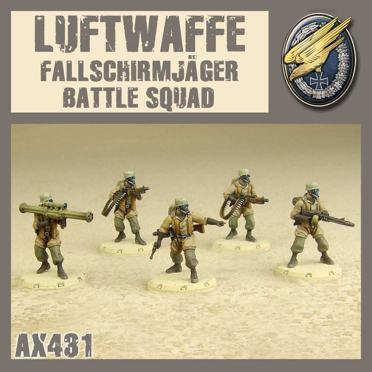 DUST USA DUST DROP-SHIP: Fallschirmjäger Battle Squad