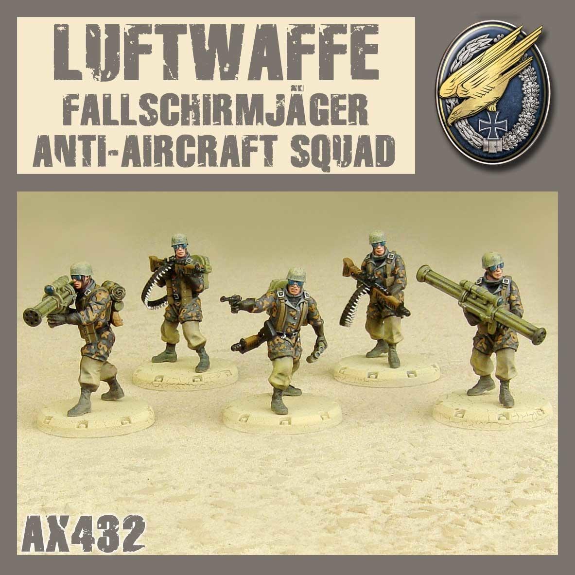 DUST USA DUST DROP-SHIP: Fallschirmjäger Anti Aircraft Squad