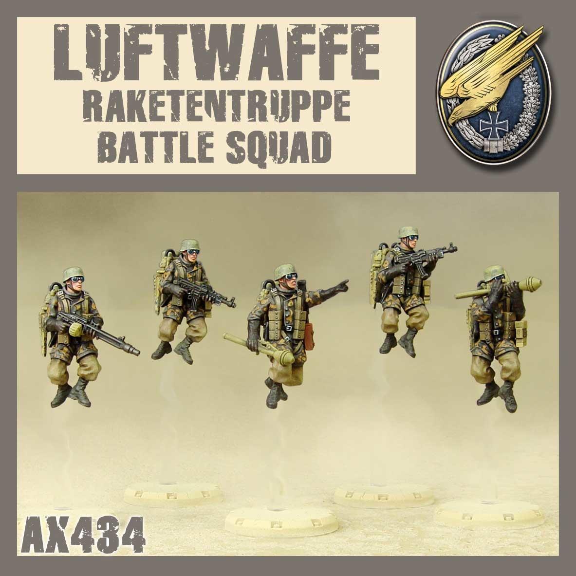 DUST USA DUST DROP-SHIP: Raketentruppe Battle Squad