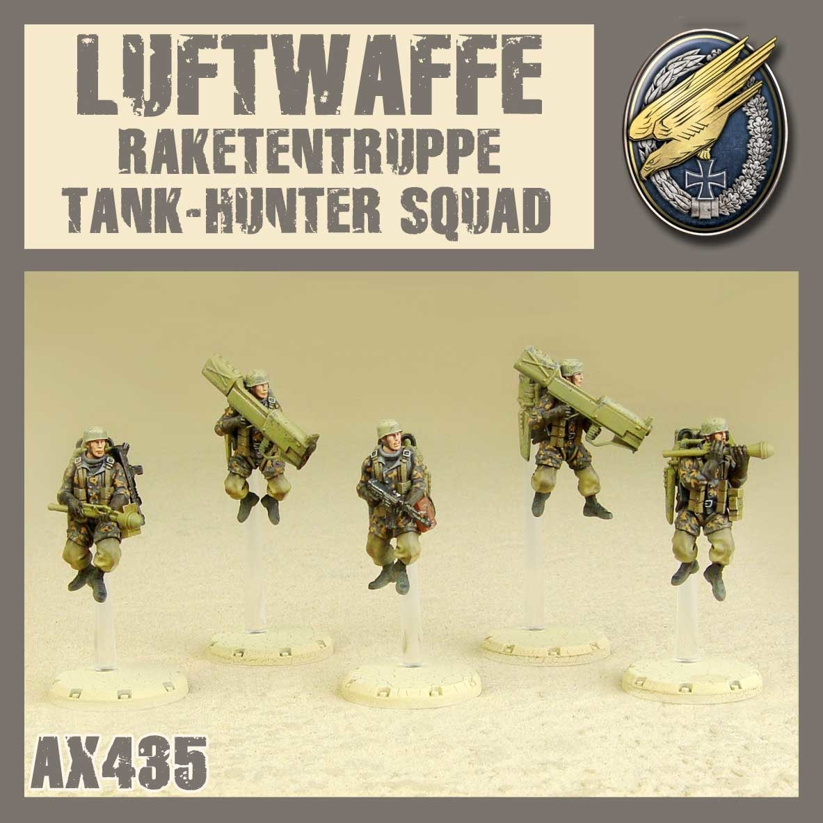 DUST USA DUST DROP-SHIP: Raketentruppe Tank Hunter Squad