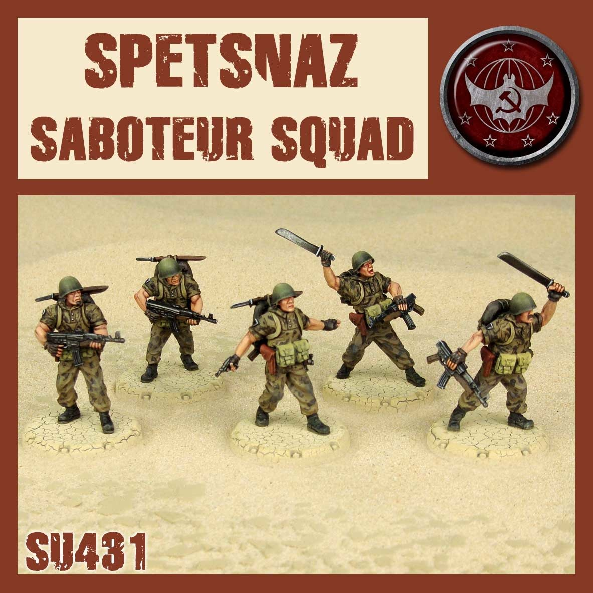 DUST USA DUST DROP-SHIP: Spetsnaz Saboteur Squad