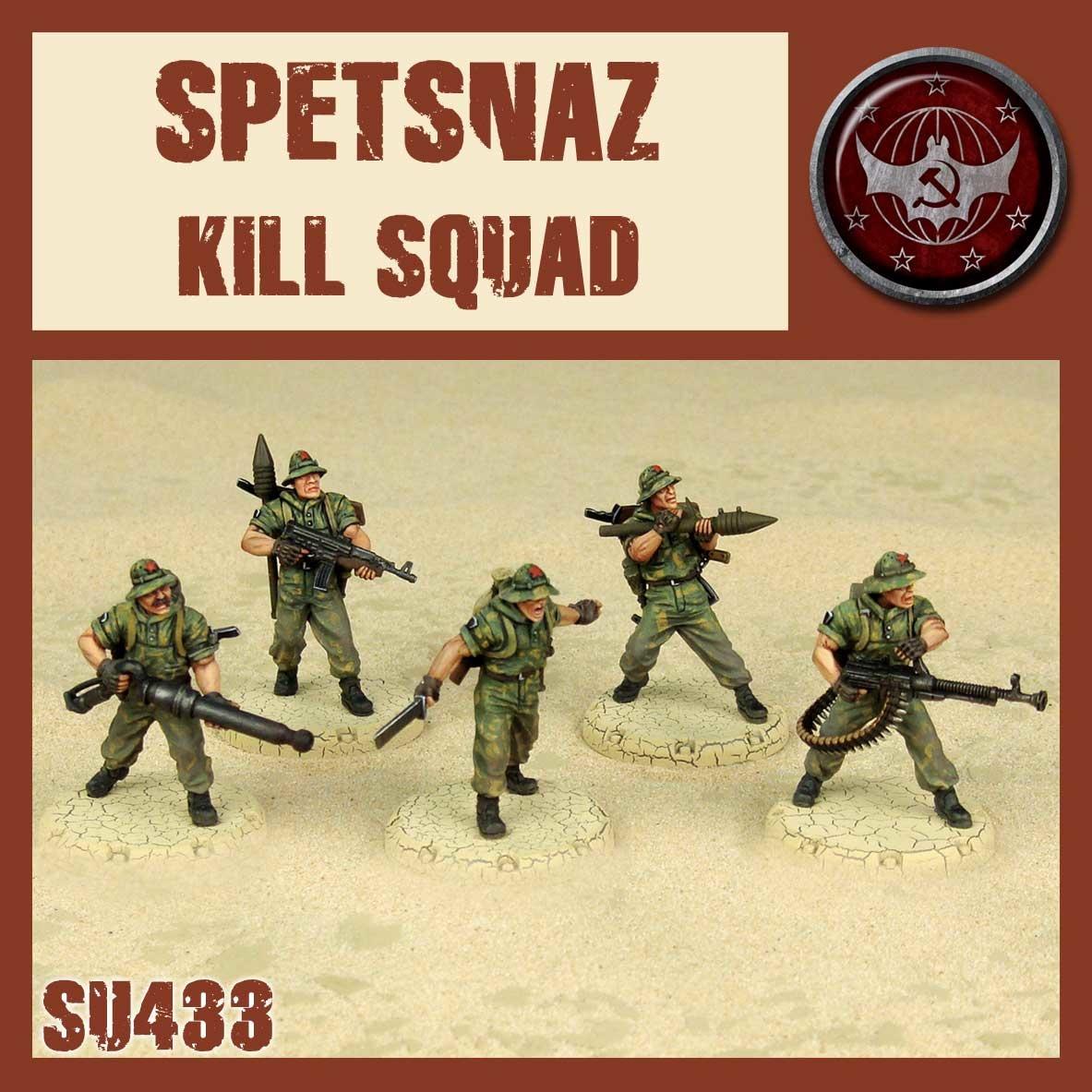 DUST USA DUST DROP-SHIP: Spetsnaz Kill Squad