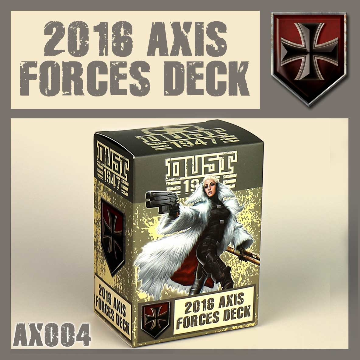 DUST USA DUST DROP-SHIP: Dust 1947 Axis Card Pack