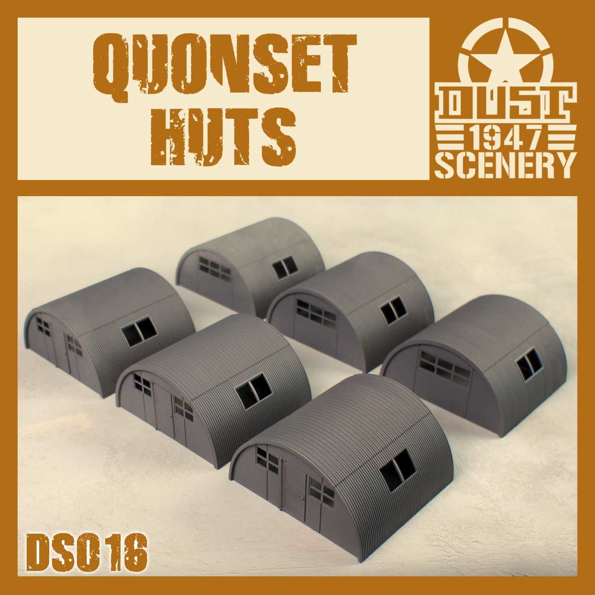 DUST USA DUST DROP-SHIP: Quonset Huts