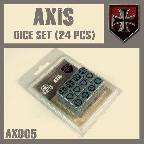 DUST USA DUST DROP-SHIP: Axis Dice Set
