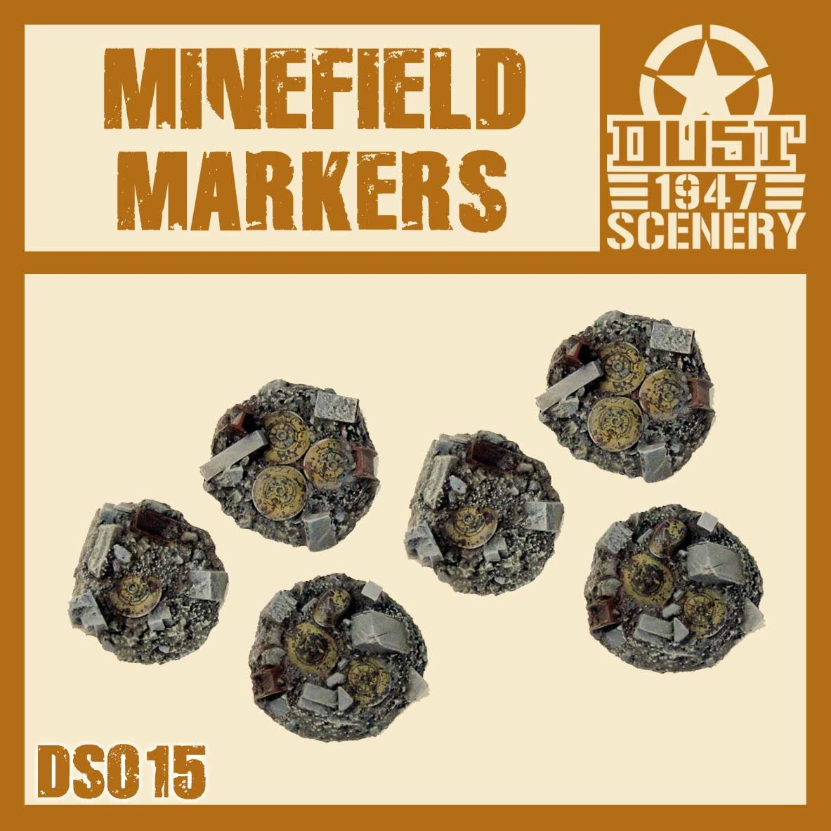 DUST USA DUST DROP-SHIP: Minefield Markers