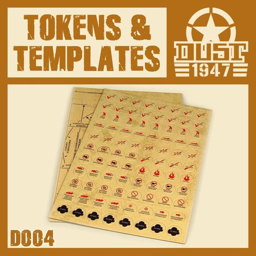 DUST USA DUST DROP-SHIP: Tokens punchboard