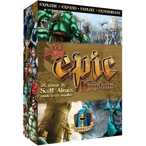 Gamelyn Games ULTRA TINY EPIC KINGDOMS