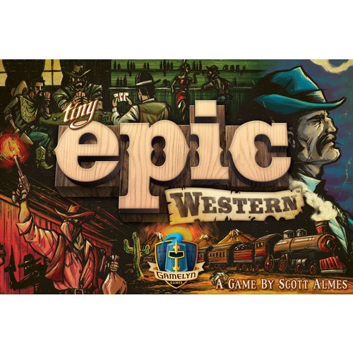 Gamelyn Games TINY EPIC WESTERN
