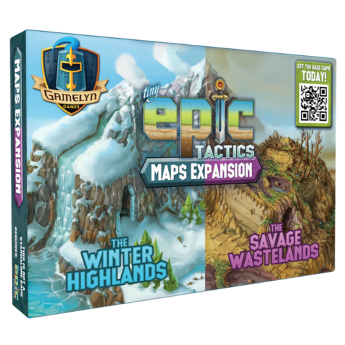 Gamelyn Games TINY EPIC TACTICS: MAP PACK