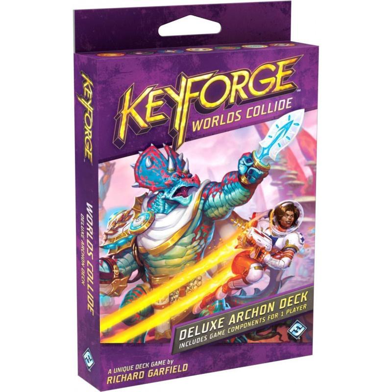 Fantasy Flight Games KEYFORGE WORLDS COLLIDE DELUXE DECK