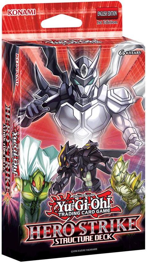 Konami Digital Entertainment YUGIOH: HERO STRIKE - STRUCTURE DECK
