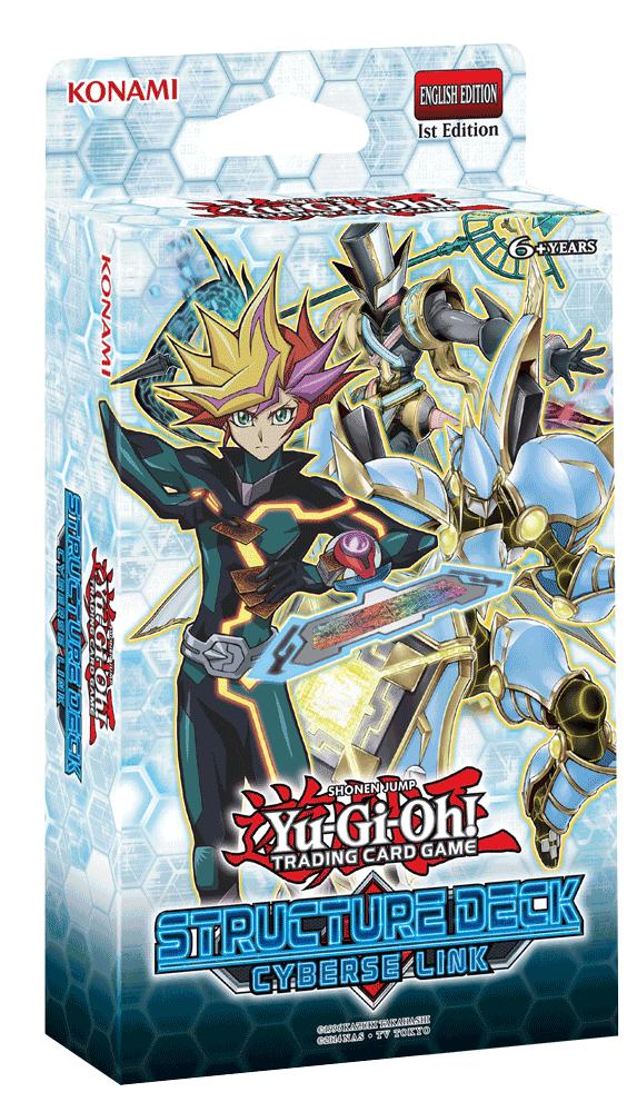 Konami Digital Entertainment YUGIOH: CYBERSE LINK - STRUCTURE DECK