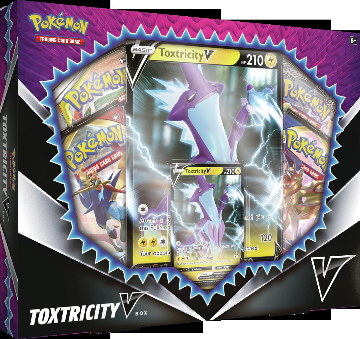 Pokemon USA POKEMON: TOXTRICITY V BOX