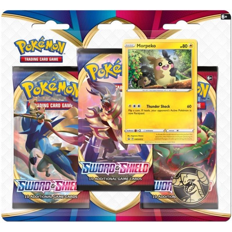 Pokemon USA POKEMON: SWORD & SHIELD - 3 BOOSTER BLISTER